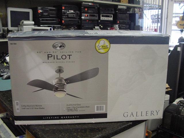 Hampton bay pilot ceiling fan review